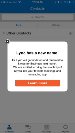 Skype For Business is coming!